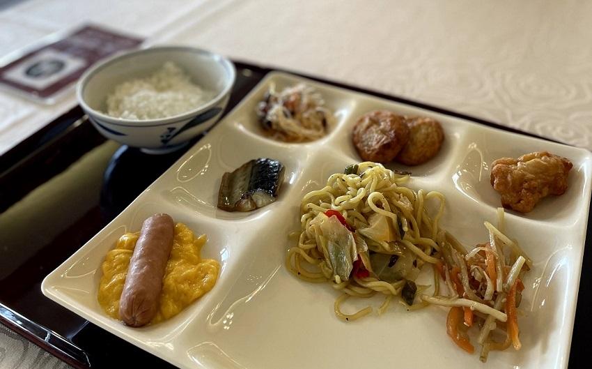 倉敷シーサイドホテル朝食ビュッフェ