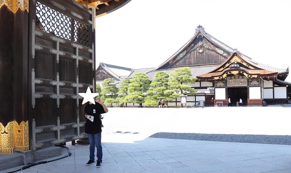 京都旅行(二条城)