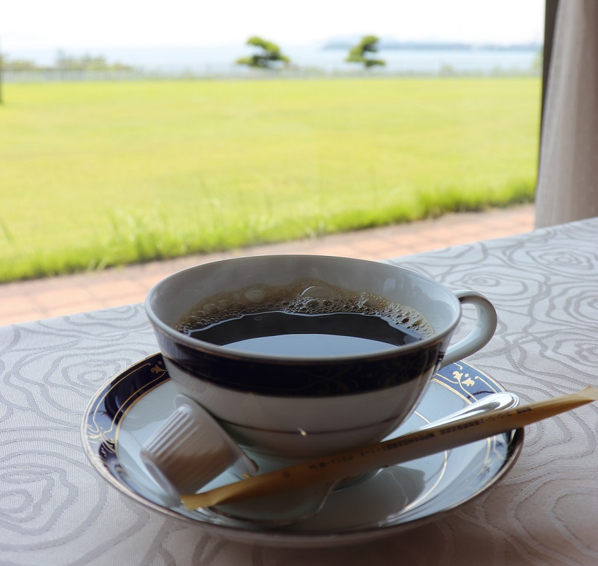 倉敷シーサイドホテルコーヒー
