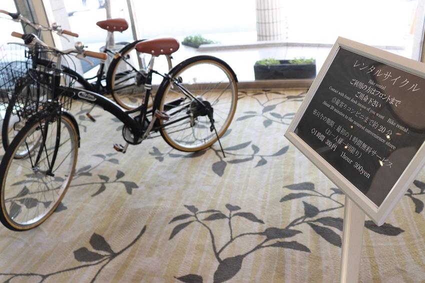 倉敷シーサイドホテルレンタサイクル