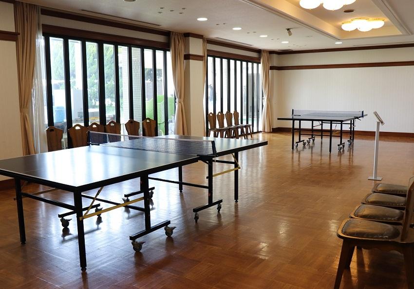 倉敷シーサイドホテル卓球