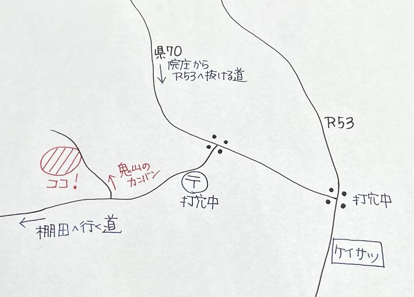 ウタノナカの地図