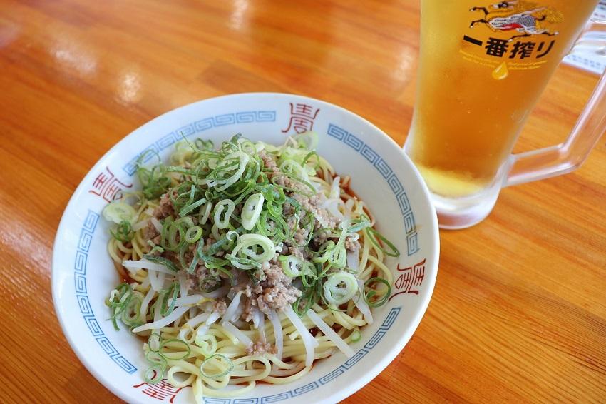 とみ山荘四川料理「天府苑」汁なし担々麵