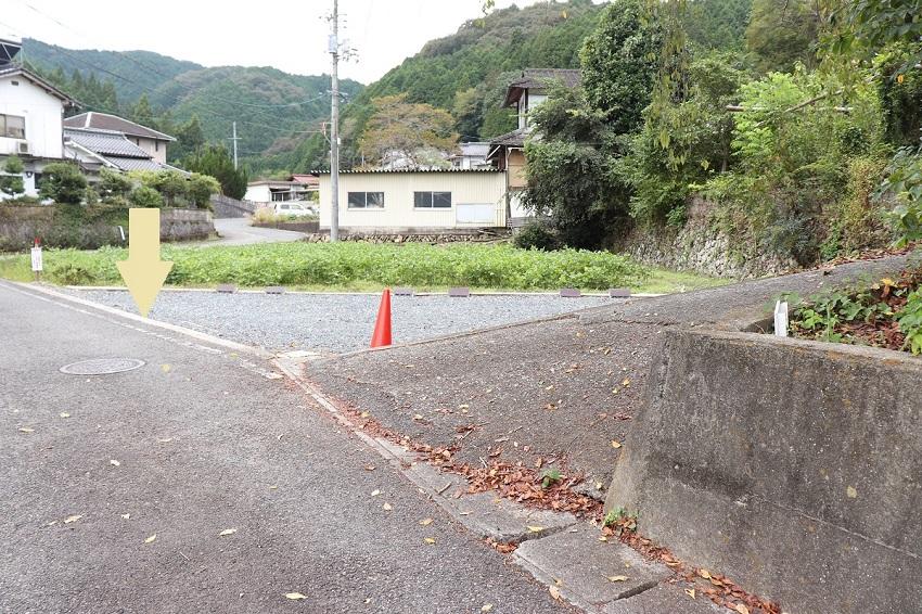里山カフェstay 駐車場